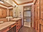 Level 1 Master Bath 4 with Separate Dual Sinks and a Tub/Shower