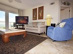 Living Room Islander Beach Condo Rentals,