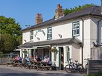 Local pubs - excellent options
