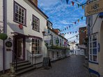 Lymington cobbles area
