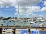 Lymington marina from the ferry