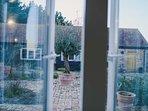 Terrace courtyard