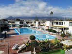 Residencial pools, for adults and children, acces only for residents of the complex and guests