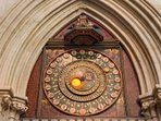 The famous clock at Wells Cathedral
