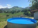 Vistas de peña Pelada desde la piscina