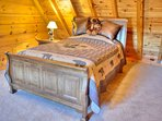 Bedroom #3 with Queen Bed on Upper Floor