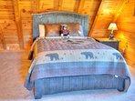 Bedroom #2 with Queen Bed on Upper Floor