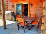 Enjoy Dining Outside and Gas Grill