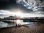 Another view of Brighton Pier, which always looks stunning, come rain or shine
