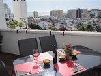 Stor terrass med fantastiskt utsikt!