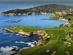 Surrounding Area--Pebble Beach Golf Course