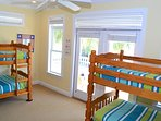 Twin bunk beds - sleeps four.