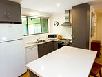 Fully equipped kitchen with gas cooking for our Melbourne guests