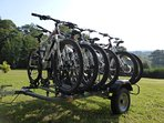 Bikes available to hire on site; please see Brittany Cycle Tours