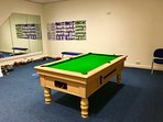 Burlington Mansions Pool Table, guests can use free of charge- details available on request