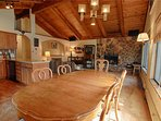 Dining Room,Indoors,Room,Loft,Hardwood