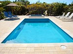 Shared pool for guests