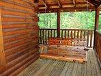 Enjoy a shady swing on the porch