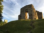 Historic Christchurch- castle ruins. A great town to visit