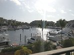 View from our terrace, Marina Cap Cana