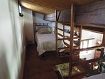 Large Apartment - 2 Single beds on the open wooden loft