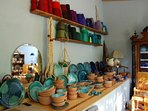 Pottery works