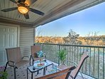 The private balcony is sure to provide relaxation.