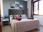 Kingsize comfortable bed