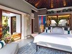 The Arsana Estate - Guest bedroom furnishings