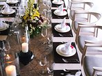 The Arsana Estate - Dining table set up
