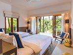 The Arsana Estate - Twin bedroom outlook