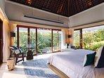 The Arsana Estate - Tropical bedroom outlook