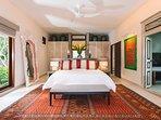 The Arsana Estate - Spacious bedroom setting