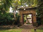 The Arsana Estate - Walk way to the entrance