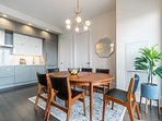 Dining room with MCM set