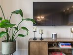 Entertain with Smart TV and Board games