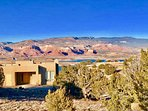Abiquiu Lake Mesa - your vacation home on the mesa top above beautiful Abiquiu Lake.