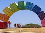 Rainbow of Fremantle Sea Containers