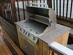 Custom gas grill