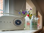 Environmentally friendly cleaning products used as much as possible