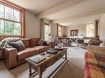 Large lounge with plenty of seating