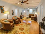 This pet-friendly home is a great getaway for families and friends!