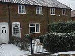 Snowy Cottage!