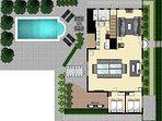 Main House Floor plan Downstairs