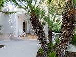 Appartamento con vista giardino in splendida Villa