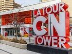 CN Tower is next door