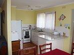 All conveniences of kitchen at Yia Yia's House Holiday House Dromana Mornington Peninsula