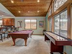 Angora Mountain Lodge  - Private Billards and Shuffleboard