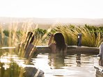 Take a trip to the Peninsula Hot Springs only a short drive away