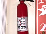 Fire Extinguisher located in Laundry Room